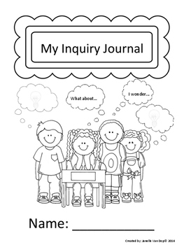 Student Inquiry Journal Pages