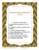 Student Inquiry Project