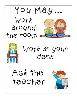 Visual Instruction Charts for Students