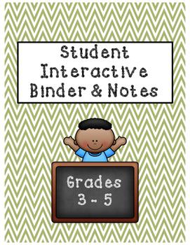 Interactive Binder [FREEBIE]
