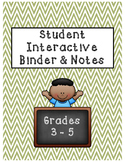 Interactive Binder [FREEBIE]