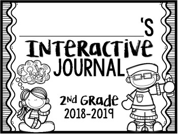 Student Interactive Journal Templates