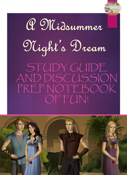 Shakespeare's A Midsummer Night's Dream: Student Interactive Notebook (Digital)