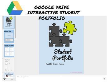 Google Apps Student Interactive Portfolio