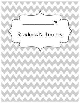 Student Interactive Reader's Notebook