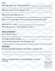 Student Interest/Home Survey 3-6 ENGLISH
