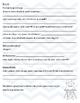 Student Interest/Home Survey K-2 SPANISH Encuesta estudiantil