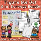 Figure Me Out 6 in 1 Back to School Surveys Bundle