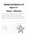 Student Interest Inventory Survey-3 pages