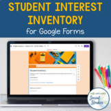 Student Interest Inventory for Google Forms