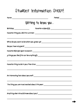 Student Interest & Math Learning Survey
