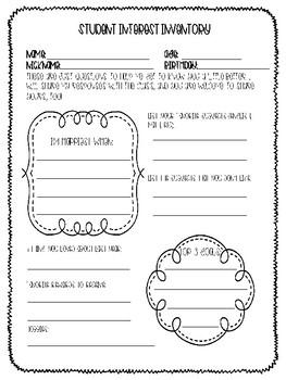 Student Interest & Parent Survey