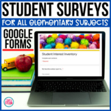 Student Interest Survey for Elementary | Google Forms for