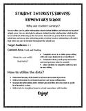 Student Interest Surveys