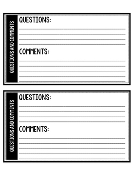 Student Interest Surveys and Writing Prompts 4-7 Bold & Simple