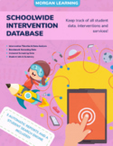 Student Intervention Database with 3 Automatic Reports!!