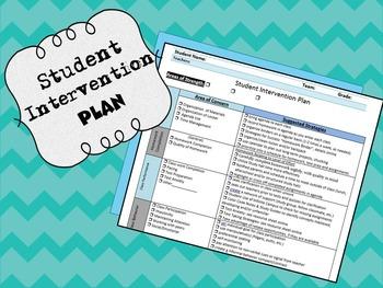 Student Intervention Plan- (RtI, Tier 1 Strategies/AIS)
