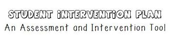 Student Intervention Plans - High Frequency Words List 1, 2, 3