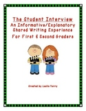 Student Interview - Informational Shared Writing Experienc