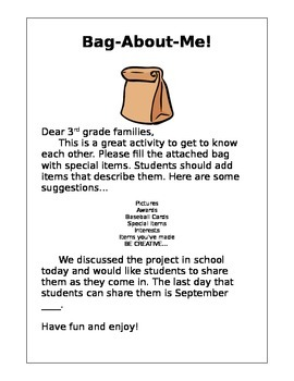 Student Introduction Activity