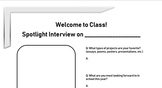 Student Introduction Interview
