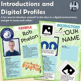 Student Introduction and Digital Profiles | F2F or Distanc
