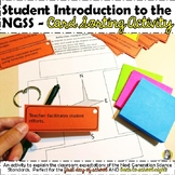 Student Introduction to the NGSS - Card Sort Activity