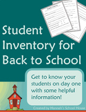 Student Inventory