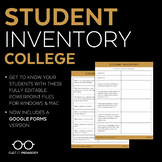 Student Inventory: College Level