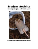 Investigating the soil in the school yard - a student Inve