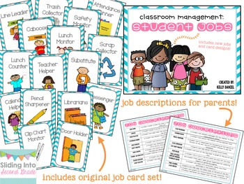 Student Job Cards BUNDLE