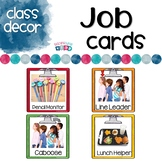 Student Job Cards Rainbow Themed
