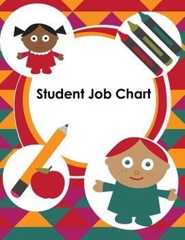 Student Job Chart