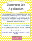Student Job Descriptions & Application
