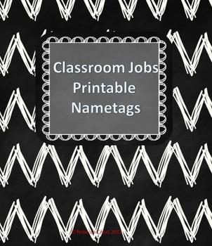 Student Job Name-tags