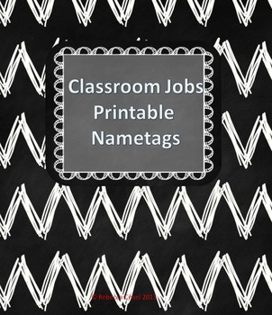 Student Job Name-tags