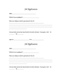 Student Jobs Application Form