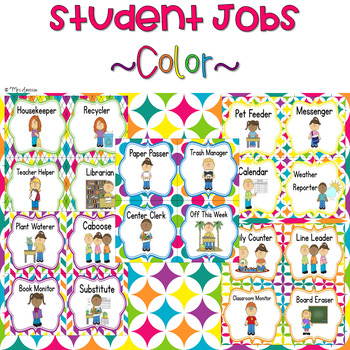 Student Jobs- Color