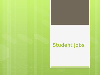 Student Jobs Presentation
