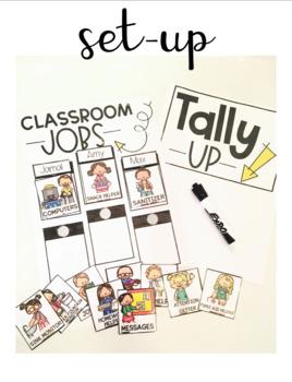Editable Classroom Job Poster {36 JOB CHOICES}