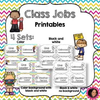 Class Jobs Signs