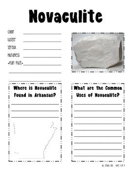 Student Journal of Arkansas Minerals