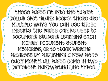 Student Journaling Books