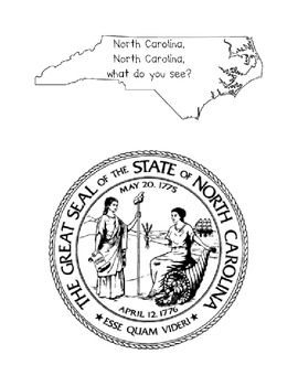 Student Keepsake Book Project About North Carolina Common Core