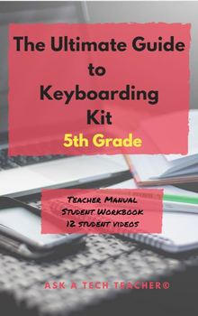 Student Keyboarding Workbook: 5th Grade