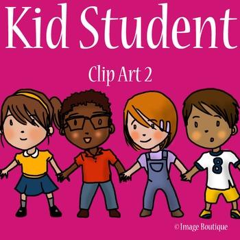 Student Kid 2 Clip Art