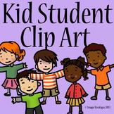 Student Kid Clip Art