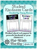Student Kindness Cards