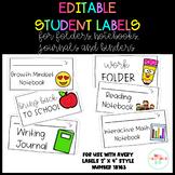 Student Labels