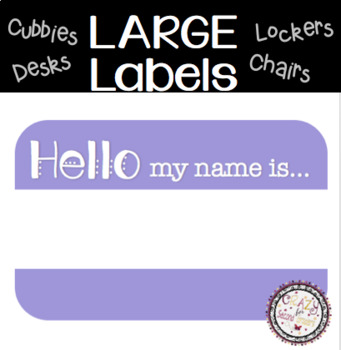 Student Labels LARGE